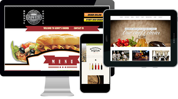 Website for Restaurants